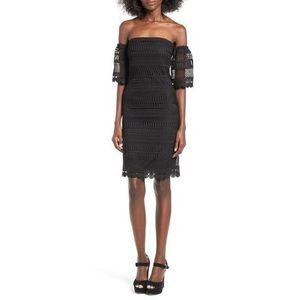 Leith Off the Shoulder Lace Dress